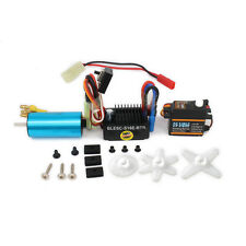 17g Servo W/ 4800KV Brushless Motor W/ ESC Speed Controller For HSP Wltoys