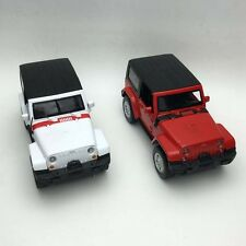 1x New 1:32 Jeep Wrangler Rubicon Alloy Diecast Model Car Toy Sound & Light