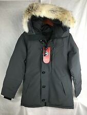 NEW CANADA GOOSE CHATEAU PARKA GRAPHITE MEN M MEDIUM AUTHENTIC DOWN WARM JACKET