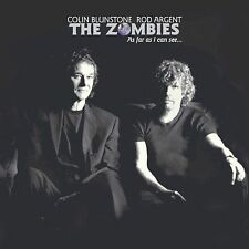 As Far As I Can See... by The Zombies (2004, Rhino) CD & PAPER SLEEVE ONLY