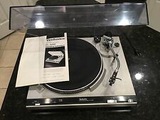 CLEAN Vintage Technics SL-3200 Direct Drive Turntable with Manual EUC