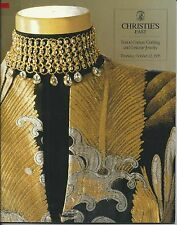 CHRISTIE'S COUTURE COSTUME JEWELRY Balenciaga Chanel Hermes Pucci Catalog 1995