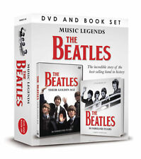 THE BEATLES MUSIC LEGENDS DVD & BOOK SET BEATLES 50 FABULOUS YEARS SEALED BOX