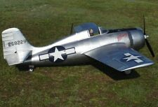 F4F Wildcat 74 inch Wing    Giant Scale RC AIrplane Printed Plans & Templates