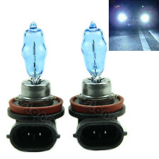 2 x H11 H 11 White HID Xenon 6000K Headlight Bulb 12V 100W New