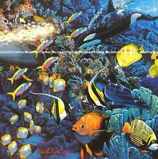 Harmony Killer Whale Dolphin Sea Fish Jigsaw Puzzle Ceaco Lassen 550pc SEALED