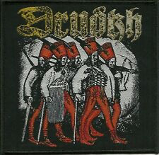 DRUDKH-EASTERN FRONTIER IN FLAMES- WOVEN PATCH-super rare