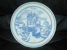 HUTSCHENREUTHER GERMANY COLLECTOR PLATE DER BUR ELTZ TELLER LTD EDITION