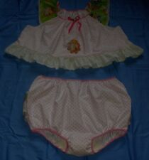Adult Baby Sissy Play Set Nighty  Disney Princess Tinkerbell Fairies Polka Dot