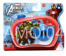 Avengers Kids Camera View Pictures Slides Iron Man, Hulk, Captain America *New