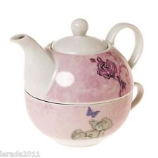 TATTY TEDDY TEAPOT AND CUP FOR ONE SET AFTERNOON TEA GIFT CHRISTMAS MOTHERS DAY