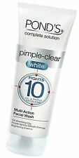 1X100 ML OF POND'S PIMPLE CLEAR WHITE MULTI ACTION FACE WASH WITH LOW SHIPPING