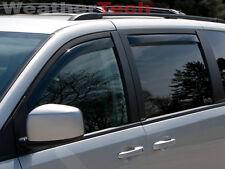 WeatherTech® Side Window Deflectors for Dodge Grand Caravan - 2008-2016 - Dark