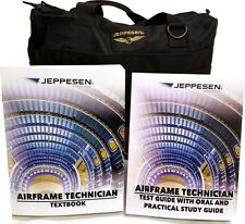 Jeppesen JS302128 Airframe Training Kit Airframe Text Book & Airframe Test Guide