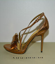 NIB BURBERRY PRORSUM SNAKESKIN PYTHON LEATHER PLATFORM SANDALS SHOES EU 35 US 5