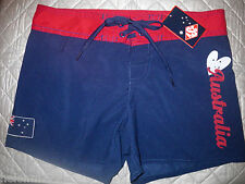 Boys or Girls Size 12 ASC Aussie Dark Blue Australia Board Shorts Boardies Swim