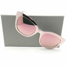 Christian Dior Diorama 1 TGW0J Pink Rose Mirror New Sunglasses Authentic