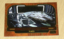 2013 Topps Star Wars Galactic Files Series 2 GOLD parallel DOCKING BAY #658 5/10