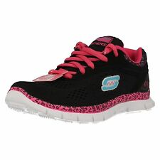 Girls Skechers Skech Appeal-Island Style 81888 Lace Up Memory Foam Trainers