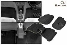 New Black Colour-3D Car Floor Mat/Folded Mats Perfect Fit-Ford Old Figo