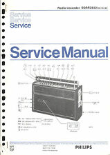 Philips  Original Service Manual für 90 RR 365