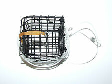 METAL CRAB LOBSTER TRAP CAGE POT PIER BOAT ROD SEA FISHING LINE SWIVEL LOOPS