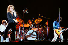 "12""*18"" concert photo of Led Zeppelin playing at Knebworth 1979"