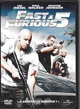 DVD ZONE 2--FAST & FURIOUS 5--DIESEL/WALKER/JOHNSON/LIN