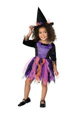 Rubie's Toddlers 'Wanda The Witch' Halloween Costume, Purple/Black, T