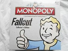 FALLOUT COLLECTORS EDITION MONOPOLY BOARD GAME BRAND NEW IN STOCK
