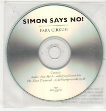 (ET548) Simon Says No!, Para Cirkus! - DJ CD