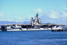 794056 CV 64 Constellation At Pearl Harbor USA A4 Photo Print