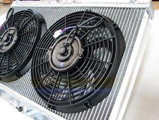 90-97 MIATA NA MX5 B6ZE BP 2-ROW/CORE TURBO/NA ALUMINUM RADIATOR COOLER w/2x FAN