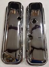 1965 - 1974 Corvette Chrome Big Block Valve Covers with Drippers. Reproductions