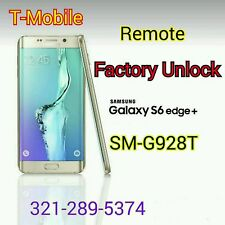 ☆REAL☆T-MOBILE S6 Edge Plus + G928T code FACTORY UNLOCK SERVICE ☆DONE REMOTELY☆