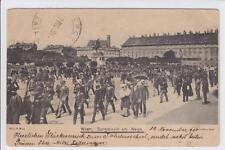 AK Wien I, Burgmusik am Wege, 1904