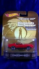 Hot Wheels 007 Bond '71 Mustang Mach 1 Diamonds Are Forever Retro Entertainment