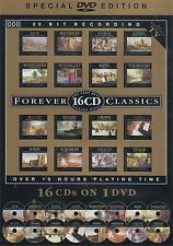 """FOREVER CLASSICS (2001 DVD """"16 CDs on ONE 19 Hour DVD Disc"""") Bach Beethoven etc"""