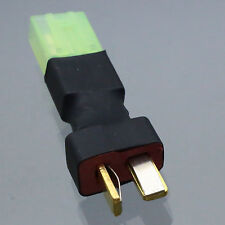 Wireless Adapter Plug, T-Plug (Deans Type) Male to Mini Tamiya Female Connector