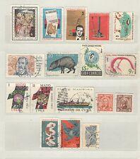 Q8089 - CUBA 1963 - LOTTO 15 USATI DIFFERENTI - VEDI FOTO