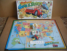 "Rare Geo Safari ""GAME OF THE STATES"" board game. MB Games 1995. Complete."