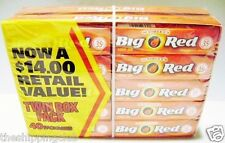 1 x BIG RED Cinnamon Gum Wrigley's 40 packs 200 sticks Chewing Bubble Candy