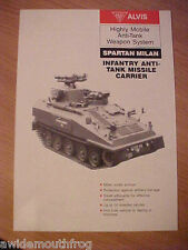 Alvis Spartan Milan Infantry Anti Tank Missile Carrier Highly Mobile Anti Tank