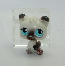 Hasbro Littlest Pet Shop 2005 Magic Motion White Black Cat Moving Paw Tongue NO#