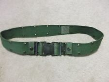 US MILITARY INDIVIDUAL EQUIPMENT NYLON BELT SIZE MEDIUM