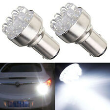 Car White 1157 BAY15D Globes 12 LED Brake Turn Stop Light Lamp Bulb DC 12v 2pcs