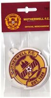 motherwell football club car air freshener The Steelmen Scottish Premiership a