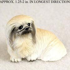 Pekingese Mini Resin Hand Painted Dog Figurine