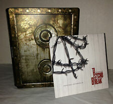 Psycho Break (Evil Within) Steelbook and Soundtrack PS4 PS3 Xbox One