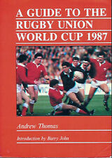 RUGBY WORLD CUP 1987 BOOK GUIDE BY ANDREW THOMAS
